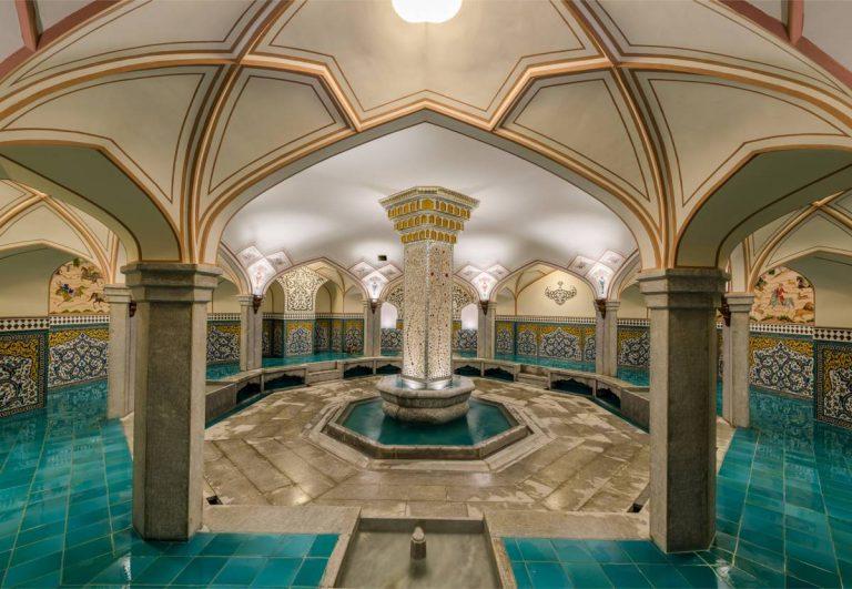 سربینه سنتی باشگاه آرامان - اصفهان - معماری ایرانی - صفوی - حمام علی گلی آقا