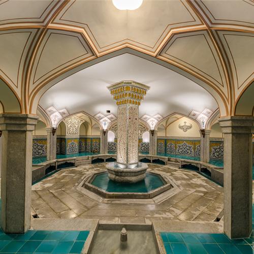 سربینه استخر و سونا باشگاه آرامان - اصفهان - حمام سنتی - گرمابه سنتی ایرانی